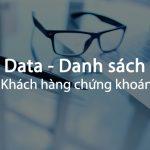 Data chứng khoán tiềm năng cho các doanh nghiệp
