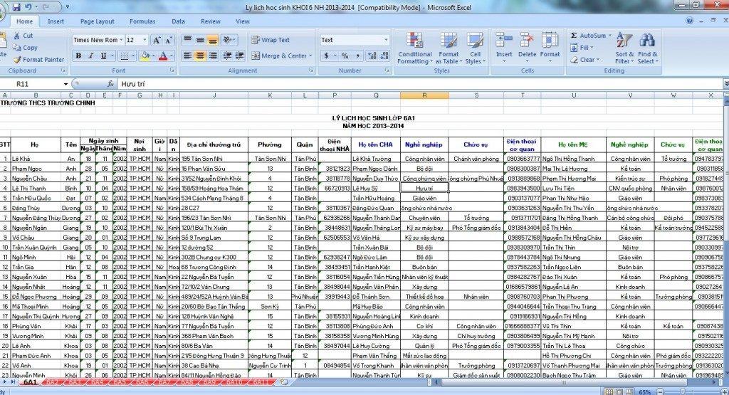 Download data phụ huynh chất lượng nhất mọi thời đại
